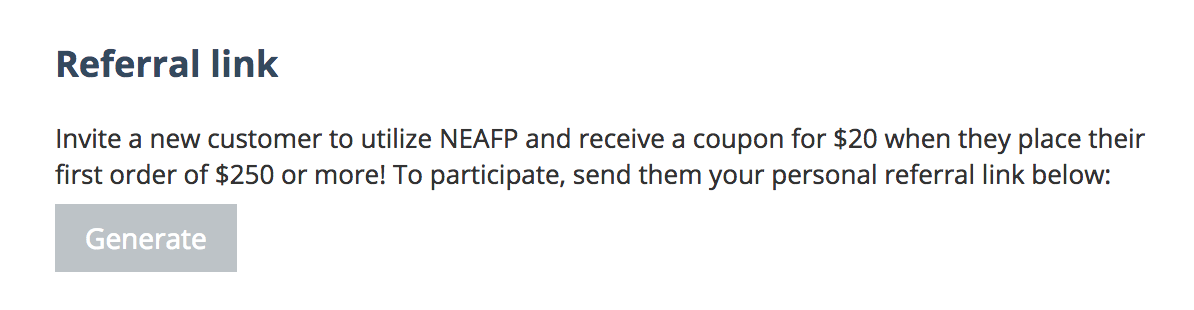News :: NEAFP's Referral Program is now Live! - NEAFP Blog